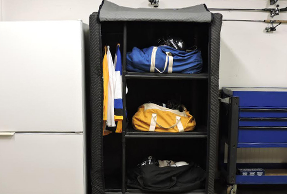 Locker in Garage
